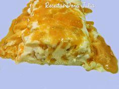 #receita #receitasdonajulia #food #bomdia #boatarde RECEITAS DONA JULIA - Blog de Culinária Gastronomia e Receitas.: CASSATA DE ABACAXI