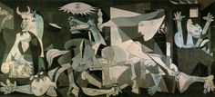 Pablo Picasso Guernica art painting for sale; Shop your favorite Pablo Picasso Guernica painting on canvas or frame at discount price. Pablo Picasso, Picasso Guernica, Picasso Art, Picasso Paintings, Painting Art, Georges Braque, Most Famous Paintings, Famous Art, Art History