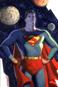 Superman by Steve Rude 2006 Superman And Lois Lane, Superman Family, Superman Comic, Batman, Superman Stuff, Spiderman, Comic Book Artists, Comic Books Art, Man Of Steel