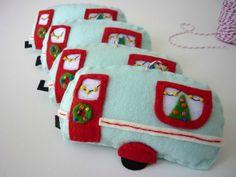 Retro Caravan Christmas Decoration