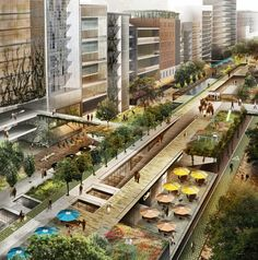Project for an Elevated Park in Chapultepec, Mexico,