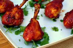 Chicken Lollipops - who has ever heard of this! Best Chicken Wing Recipe, Great Chicken Recipes, Chicken Thigh Recipes, Chicken Legs, Chicken Thighs, Traeger Recipes, Grilling Recipes, Smoked Chicken, Traeger Chicken