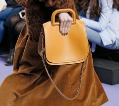 336cdcaa5ef8 Mulberry s Reinvention Continues With Tons of New Bags on the Brand s Fall  2017 Runway Fur Skirt