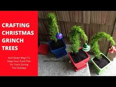 Christmas decorations - How to make a Christmas tree for small apartments - YouTube