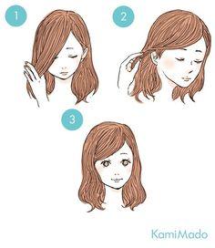 สาวกญี่ปุ่นห้ามพลาด!! 15 ทรงผมสไตล์คาวาอิ จะไว้สั้นหรือยาวก็เป๊ะเวอร์   Thaihiggs.com Cute Simple Hairstyles, Pretty Hairstyles, Kawaii Hairstyles, Cute Hairstyles, Kpop Hair, Hair Arrange, Hair Reference, Hair Designs, Hair Hacks