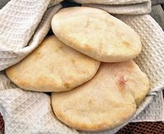 Because these are infinitely more delicious than those dried-out things you get at the grocery store. The secret to getting them to puff up into pockets is a super hot oven! Makes 3 medium pitas.