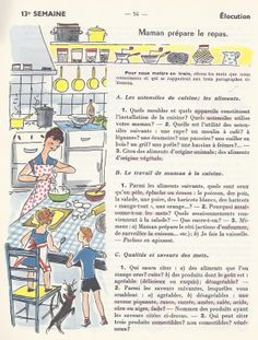 French Adjectives, List Of Adjectives, French Language Lessons, Vintage School, Learn French, English, Souffle, Montessori, Classroom Ideas