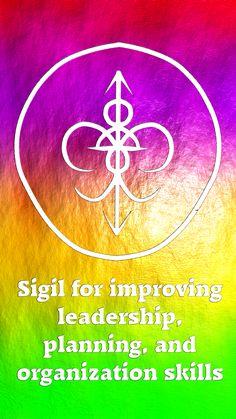 Sigil для улучшения навыков лидерства, планирования и организации