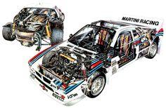 GTdrivingclubPT: Lendas e Motores - Lancia 037