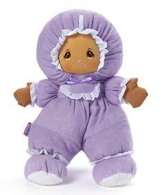 Purple Medium Skin Terry Baby