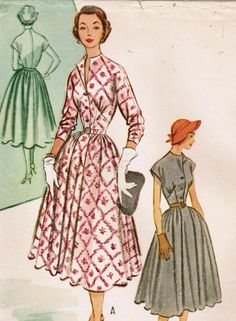 1950s McCall's 9239 Vintage Sewing Pattern by midvalecottage, $12.00