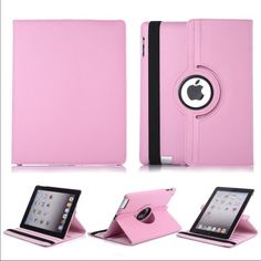 iPad mini 1/2/3/4 360 rotate leather case iPad mini 1/2/3/4 360 rotate leather case Front and Back full cover car for iPad mini 1/2/3/4 With automatic wake/Sleep function Condition: Brand New Case Color: Pink $15 Accessories