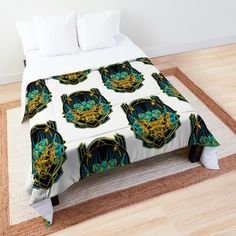 Anime girl blankets! Framed Prints, Canvas Prints, Floor Pillows, Comforters, Blankets, Duvet Covers, Bed, Anime, Furniture
