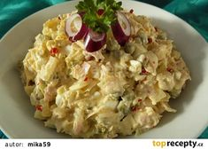 "Zelný ""vlašák"" recept - TopRecepty.cz Czech Recipes, Ethnic Recipes, Salad Recipes, Snack Recipes, Hungarian Recipes, Aesthetic Food, What To Cook, Potato Salad, Food To Make"