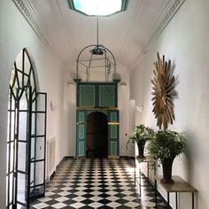 At Villa Mabruka, Tangier Morocco, photo by Gene Meyer