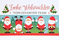 Bunt, Xmas Cards, Weihnachten