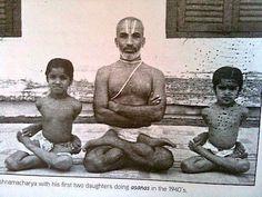 Krishnamacharya's 'Original' Ashtanga Project: Examples of usage of Kumbhaka (Breath retention) in asana in Krishnamacharya's Yoga Makaranda