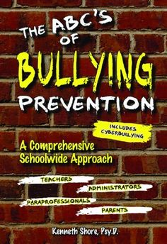 Good resource for schools who are looking for direction in implementing an anti-bullying campaign.