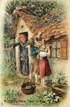 Hansel and Gretel (Brothers Grimm, Brothers Grimm) Nursery Rhymes Source by ananooani Fantasy Kunst, Fantasy Art, Hansel Y Gretel, Hansel And Gretel House, Classic Fairy Tales, Fairytale Art, Alphonse Mucha, Children's Book Illustration, Nursery Rhymes