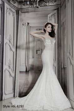 #pnina_tornai bridal dress style no. 4291 front