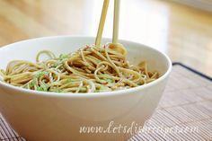 Easy Sesame Noodles on MyRecipeMagic.com