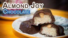 Chocolatinas de Coco con Almendras o Almond Joy Copycat