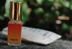 """My new favorite perfume """"Warm"""" -scent of aloha, bohemian holiday, day at the beach"""