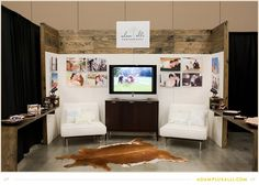 d+p design build: Trade Show Booth for Adam + Alli Photography