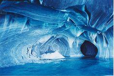 Capillas del mármol,Puerto tranquilo .maravillas de nuestra región del sur de Chile. Foto de Raul Urzua de la Sotta