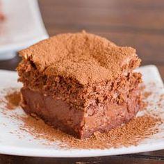 Chocolate Magic Cake Made this tonight - love it!