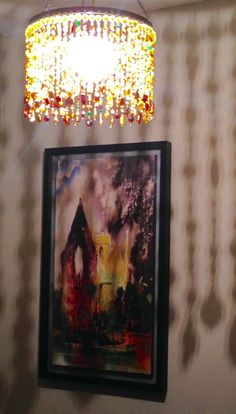 Lighting, bead chandelier, boncuk avize