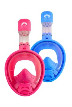 f3730c21fb6 Pink or Blue Snorkl Kids Mask: Experience the mask that changed snorkeling  forever! #