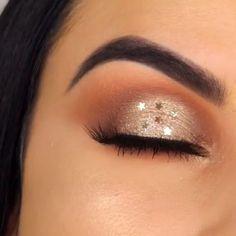110 ultimate summer makeup trends that are hotter than the summer days 29 Eye Makeup Art, Glam Makeup, Skin Makeup, Eyeshadow Makeup, Beauty Makeup, Eyeliner, Eyeshadows, Eyebrows, Best Makeup Tips
