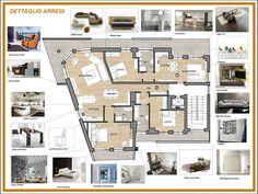 ARREDAMENTO E DINTORNI: suddivisione e arredo di 2 appartamenti (progetto per concorso)