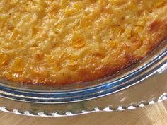 Gluten Free Sweet Corn Pudding Recipe (Revised)