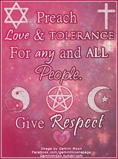 """Divine Spark:  """"Preach #Love and #Tolerance for Any and All People.  Give #Respect."""""""