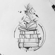 Cute Tiny Tattoos, Pretty Tattoos, Mini Tattoos, Beautiful Tattoos, Body Art Tattoos, Small Tattoos, Tatoos, Bookish Tattoos, Harry Potter Tattoos