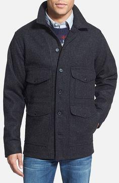 Filson 'Mackinaw Cruiser' Wool Jacket | Nordstrom. isnt this gorgeous?
