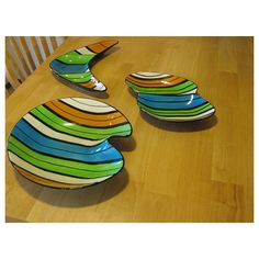 USA Ceramic Serving SET  1960's Colors And Style  USA by HomeIdaho, $95.00