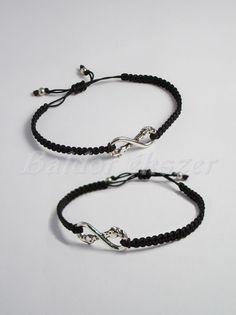 Ezüst lovas barátság karkötő / 2 db - Baldor Lovas ékszer Silver Horse, Bff, Personalized Items, Bracelets, Jewelry, Bangles, Jewlery, Jewels, Bracelet