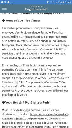 Elle A Permis Ou Permise : permis, permise, Idées, Cours, Francais., Français,, Projet, Voltaire,, Certification, Voltaire
