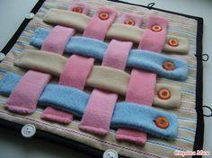 . Развивающий коврик-конструктор.