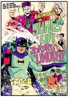 """""""Surf's Up, Joker's Under!"""" - Derek Charm"""