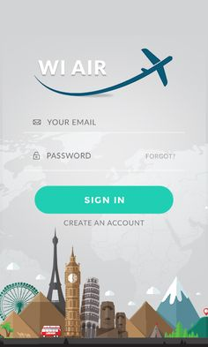 Wl air login page