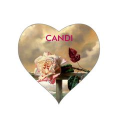 Create Your Own Heart Sticker/CANDI