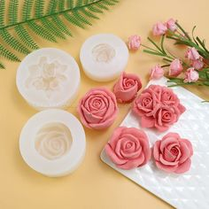 rose silicone styles Flower resin molds-Flower fondant mold-Rose chocolate mold-Mousse cake mold-Baking mold for food-Candy mold Diy Silicone Molds, Resin Molds, Soap Molds, Fondant Molds, Cake Mold, Wax Candy, Decoration Photo, 3d Rose, Chocolate Molds