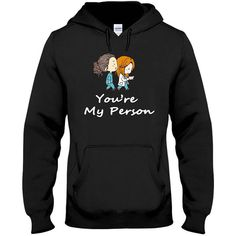 Greys Anatomy Hoodie Youre My Person Hoodie Greys Anatomy Shirt Greys... ($30) ❤ liked on Polyvore featuring tops, hoodies, black, sweatshirts, women's clothing, grey hoodies, grey hoodie, breathable shirts, hooded pullover and hoodie shirt