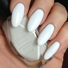 Azature black diamond nail polish in Faint White Diamond. The entire 40 colour range available in the UK exclusively from HouseofRokoko.com