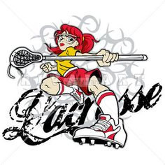 sports clipart image of woman womens girls lacrosse player graphic rh pinterest com