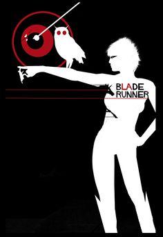 Weird blade runner poster.